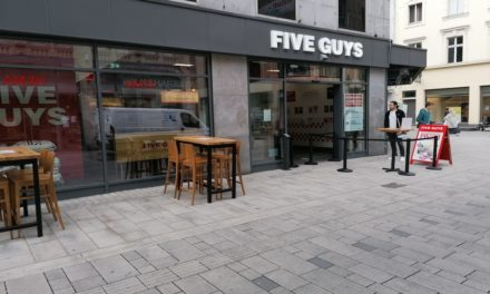 Five Guys in der Flingerstraße eröffnet