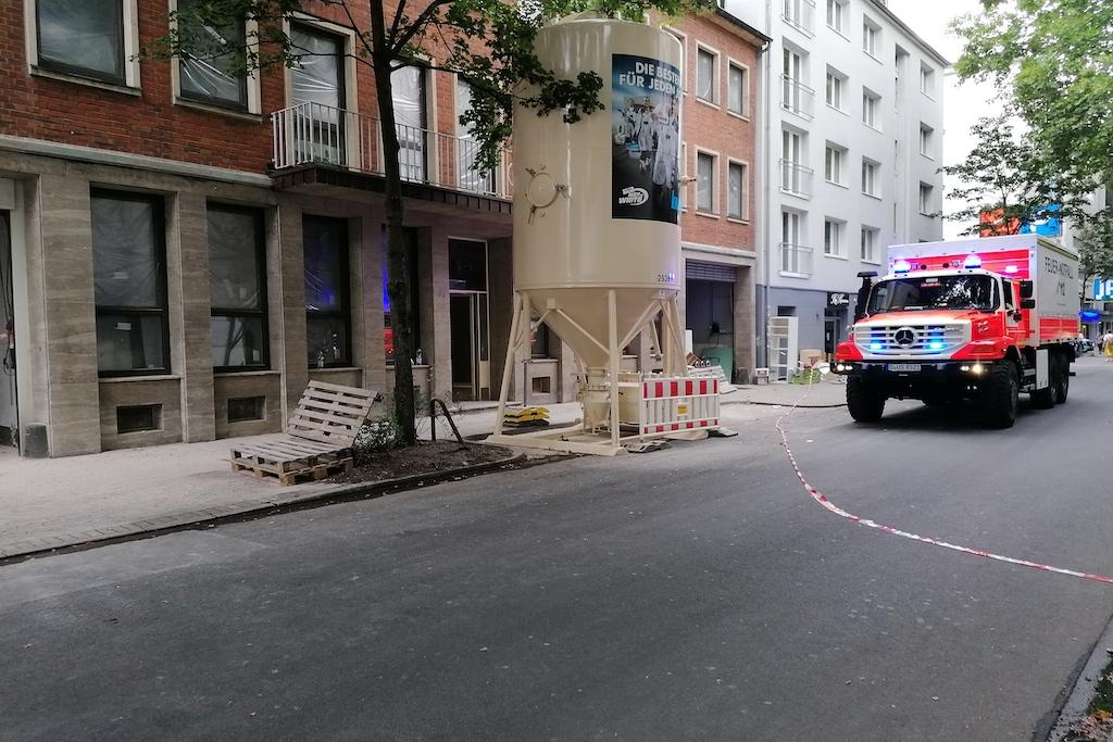 Das betroffene Gebäude Foto: LOKALBÜRO