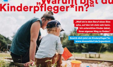 Neue Werbekampagne für den Kinderpflegeberuf