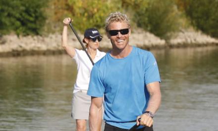 Michael Walther paddelt 1.300 Kilometer von Basel nachKiel