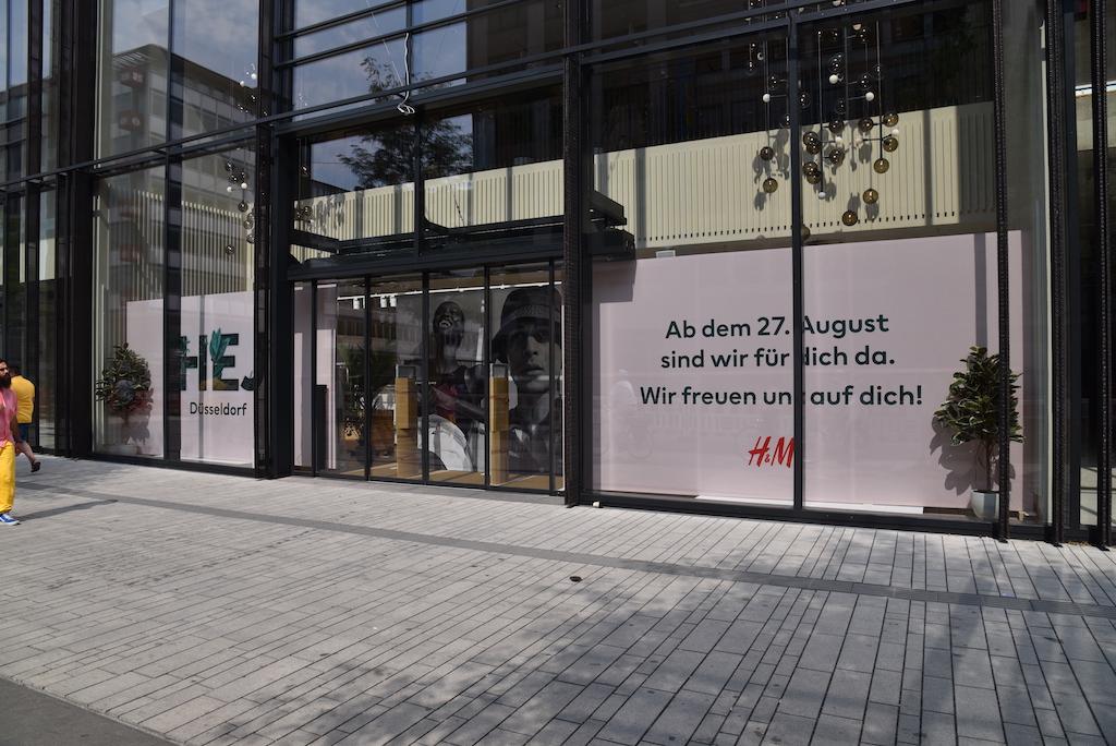 H&M im Kö Bogen zwei Foto: LOKALBÜRO