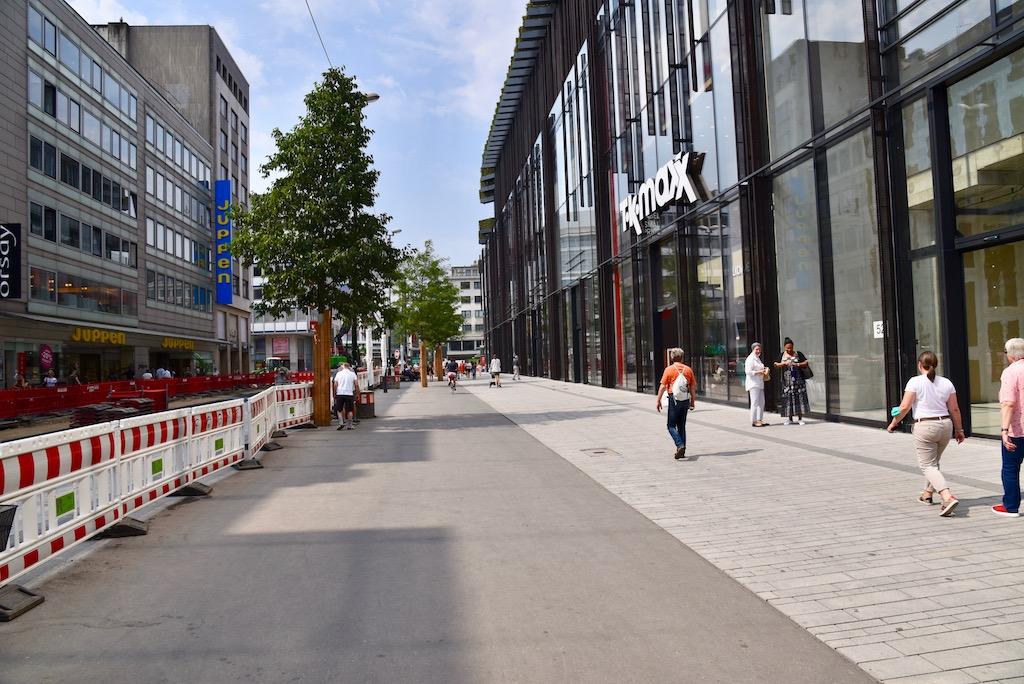 Baustelle KÖ-Bogen zwei Foto: LOKALBÜRO