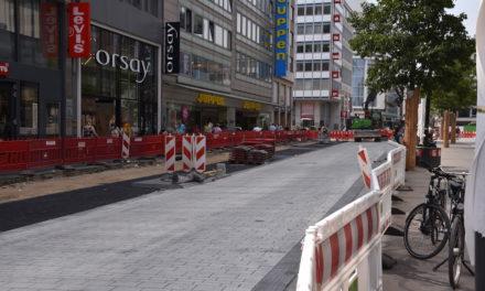 Auftakt zum Umbau der Schadowstraße