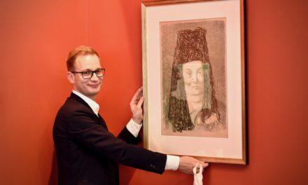 Frankonia Eurobau AG kauft seltene Mutter Ey Original-Lithographie