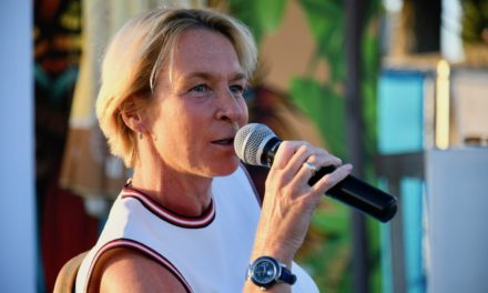 Martina Voss-Tecklenburg, Trainerin der Frauen-Fußballnationalmannschaft bei den Jonges