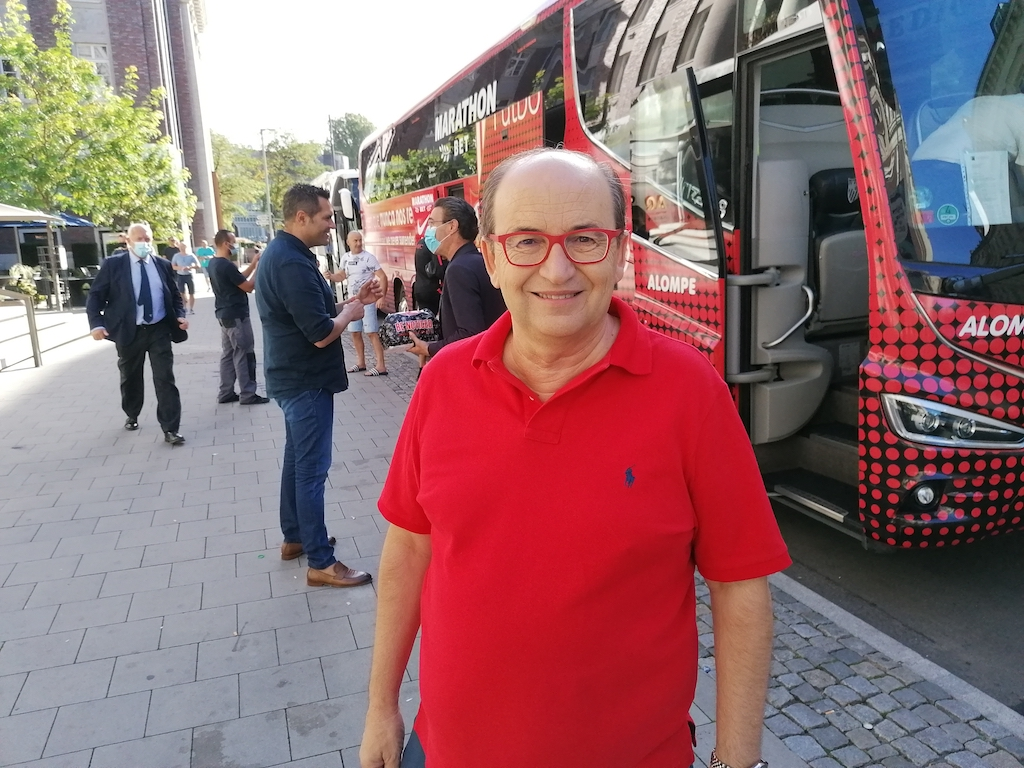 Der präsident von FC Sevilla José Castro Carmona Foto: LOKALBÜRO
