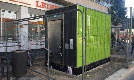 City-Toilettenanlage in Hauptbahnhofsnähe geht Mitte September in Betrieb