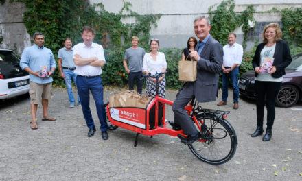 Täglich 300 Proviantpakete für obdachlose Menschen in Düsseldorf