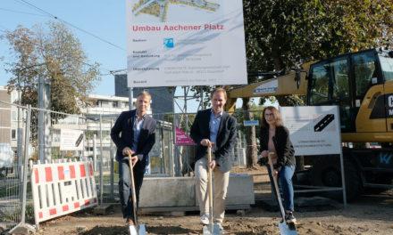 Umbau des Aachener Platzes beginnt