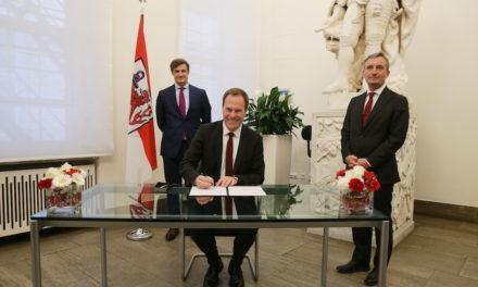 Stephan Keller hat die Wahl zum Oberbürgermeister offiziell angenommen