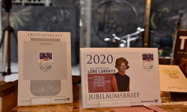 Ehrung für Lore Lorentz
