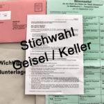 Oberbürgermeister-Stichwahl am Sonntag, 27. September