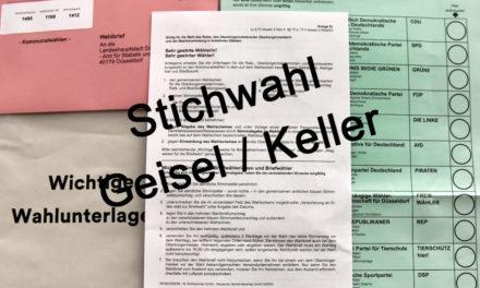 Landeshauptstadt Düsseldorf wird Abläufe für die Stichwahl optimieren
