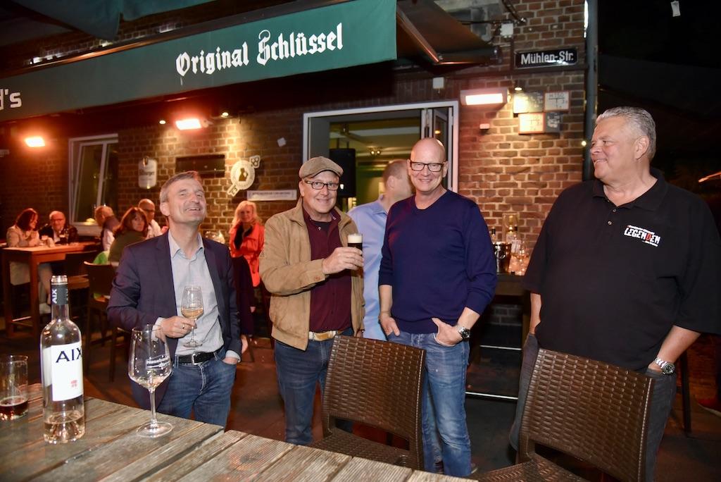 Thomas Geisel, Dirk Hoffmann , Michael Naseband und Thomas Classen Foto: LOKALBÜRO