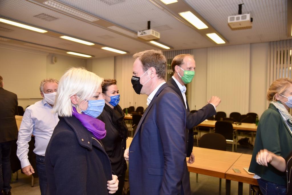 Sondierungsgespräche zwischen Grüne und CDU Foto: LOKALBÜRO