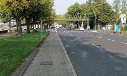 Fußgängerbrücke zum Nordpark wird abgerissen