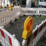 Seit über 3 Monaten Baustelle am Carlsplatz