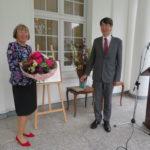 Hohe japanische Verdienstauszeichnung für Frau Christa Kayser-Hölscher