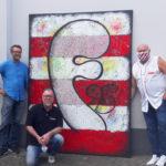 Werdet Teil des großen TONI-Gemäldes für die ARCHE Düsseldorf