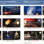 Weihnachtspost mit Heimat-Motiven aus Düsseldorf