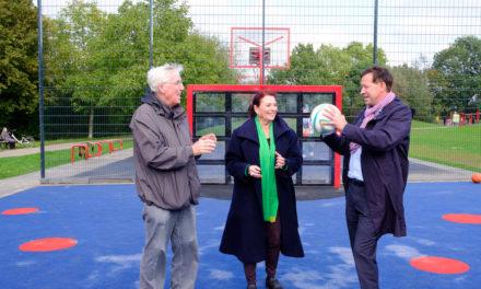 Von Boule bis Basketball — neue Sportmöglichkeiten für alle Generationen inEller