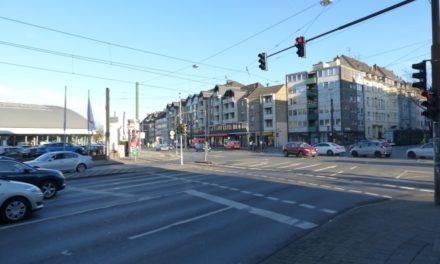 Oberbilker Allee/Kruppstraße: Radverkehrsführung wird optimiert
