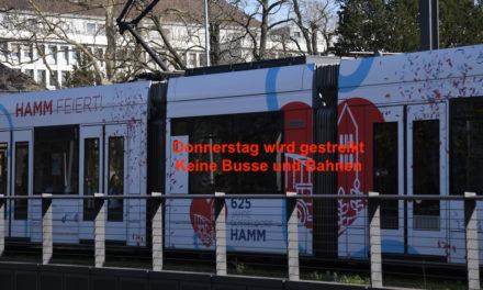 Donnerstag, 15 Oktober, erneuter Streik bei der Rheinbahn