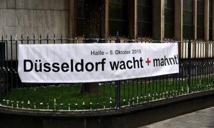 """Düsseldorf wacht +mahnt"""