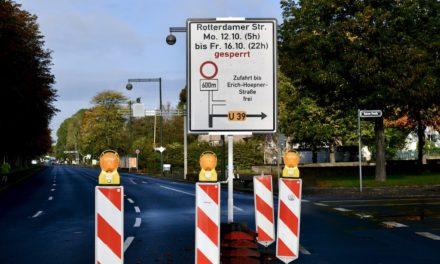 Nordpark-Fußgängerbrücke wird abgerissen