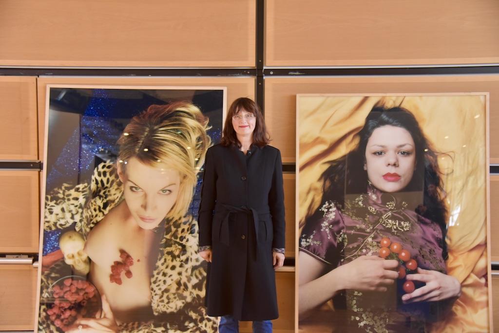 Die Künstlerin Claudia van Koolwigk Foto: LOKALBÜRO