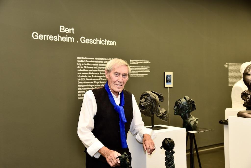 Bert Gerresheim im Stadtmuseum Foto: LOKALBÜRO