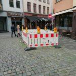 Carlsplatz: Kurzfristige Dauerbaustelle — oder wie?