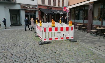 Carlsplatz: Kurzfristige Dauerbaustelle — oderwie?
