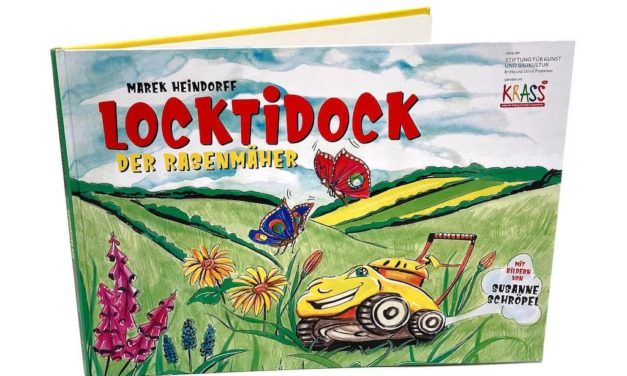 "Kinderbuch ""Locktidock der Rasenmäher"""