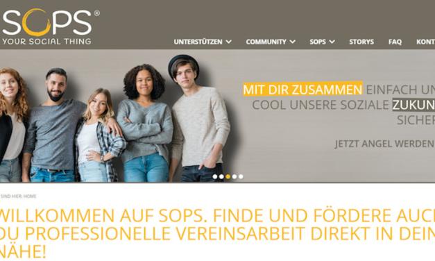 SOPS freut sich über die Kooperation mit der Landeshauptstadt Düsseldorf
