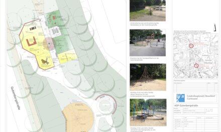 Umbau des Spielplatzes Gutenbergstraße in Grafenberg gestartet
