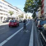 Radwegeausbau auf der Karlstraße wird fortgesetzt