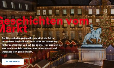 Düsseldorf Tourismus bringt Fans und Händler*innen des Weihnachtsmarkts zusammen