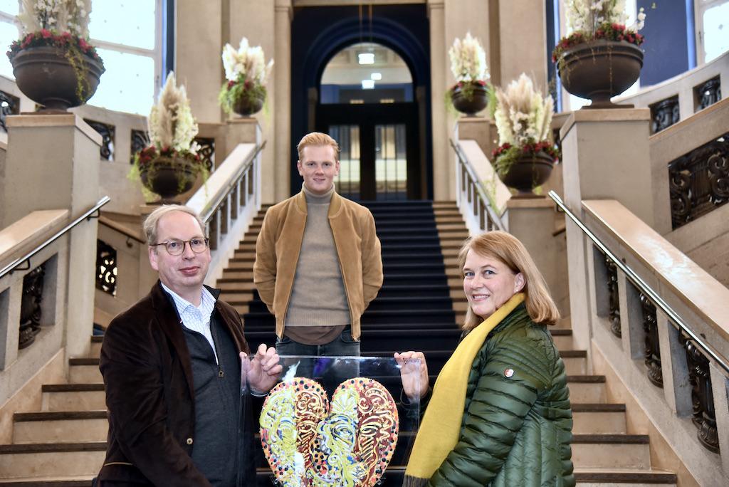 Ehepaar Carsten Jochheim und Frau Andrea Müller Jochheim und Leon Läwentraut Foto: LOKALBÜRO