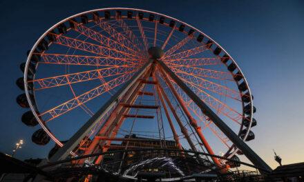Das Riesenrad soll leuchten