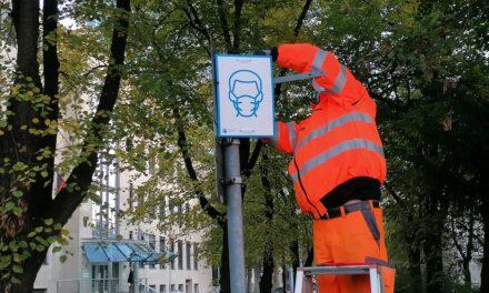 Maskenpflicht in Altstadt, Stadtmitte und am Hauptbahnhof