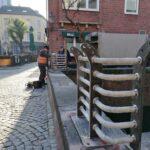 Arbeiten zur Sicherung der Düssel haben begonnen