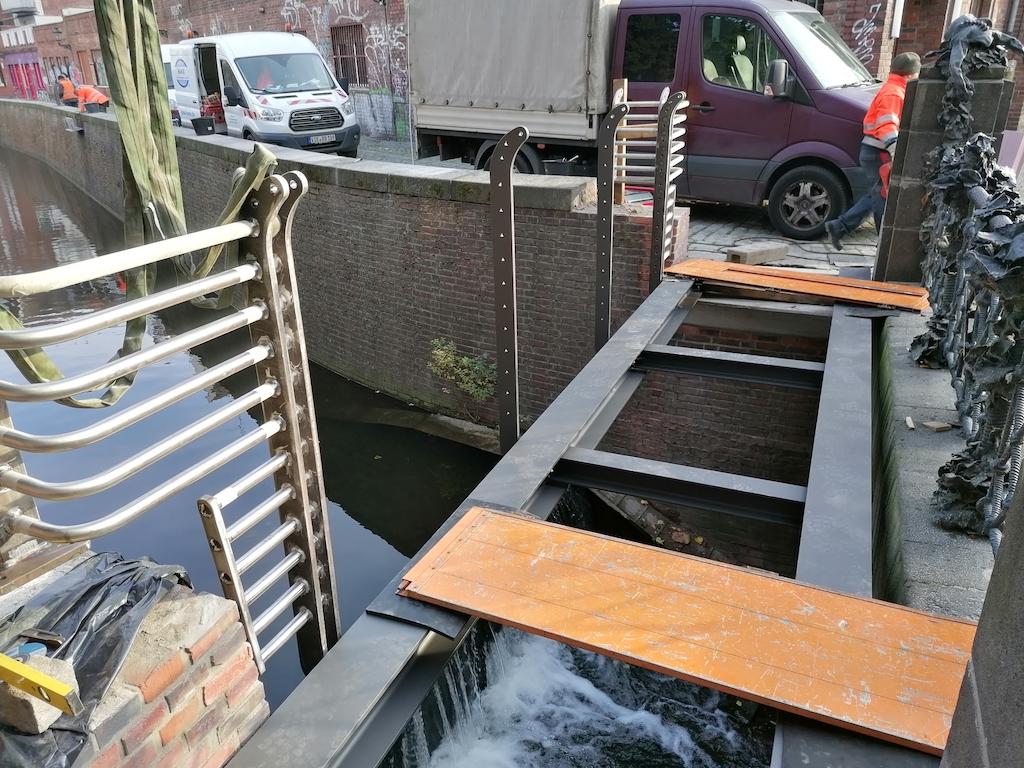 Brücke über die Düssel Foto: LOKALBÜRO