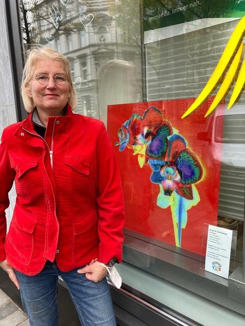 Tina Eggert (Fotokünstlerin mit ihrem Bild)