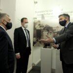 Mahn- und Gedenkstätte: Gemeinsamer Besuch von NRW-Innenminister und Oberbürgermeister