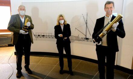 Dampfpfeifen für das SchifffahrtMuseum