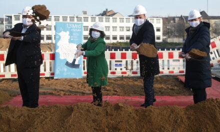 Baustart für das neue Wim-Wenders-Gymnasium
