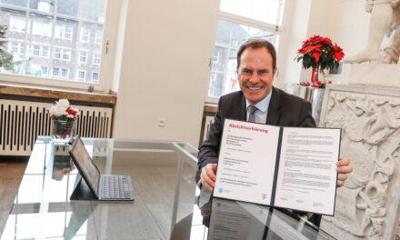 Weiterer wichtiger Schritt zur flächendeckenden Breitbandversorgung in Düsseldorf