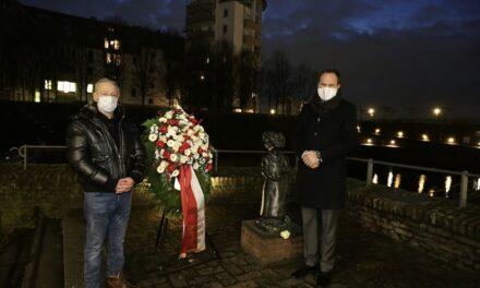 Landeshauptstadt gedenkt der ermordeten Sinti undRoma
