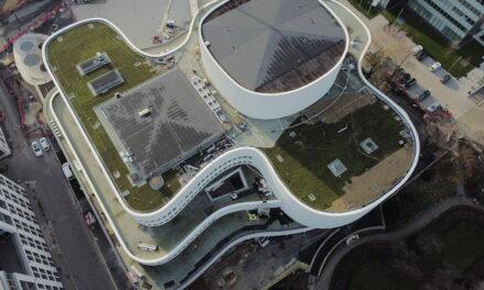 Ein grünes Dach für das Düsseldorfer Schauspielhaus